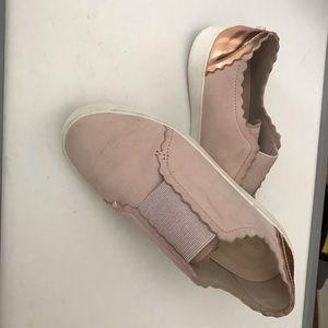 Comfy pink flats cole haan